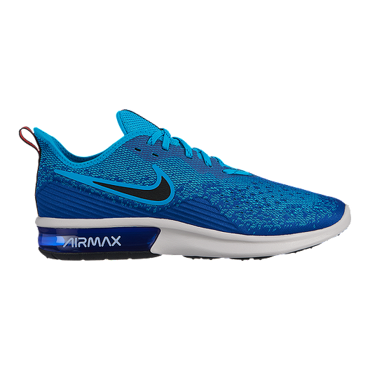 Nike Men's Air Max Sequent 4 Running Shoes BlueBlack