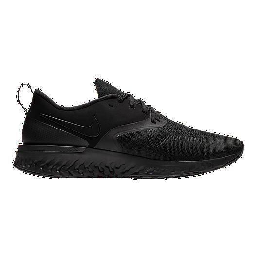 f054e89f8b Nike Men's Odyssey React 2 Flyknit Running Shoes - Black