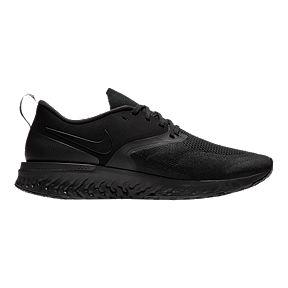 watch b414e be73f Nike Mens Odyssey React 2 Flyknit Running Shoes - Black