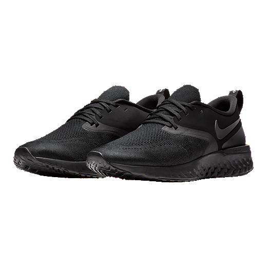 319ca6669a3 Nike Men s Odyssey React 2 Flyknit Running Shoes Black by Sport Chek