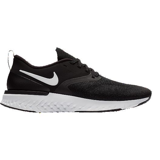 new style c306e 081b6 Nike Men s Odyssey React 2 Flyknit Running Shoes - Black White   Sport Chek