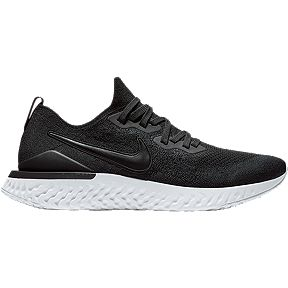 372d537fa8b9 Nike Men s Epic React Flyknit 2 Running Shoes - Black White