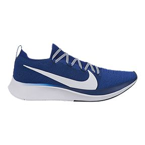 f71b99be424dbf Nike Men s Zoom Flyknit Running Shoes - Blue White