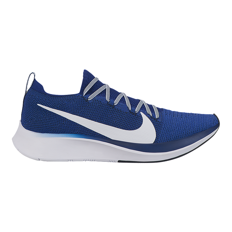 0beca542b3e76 Nike Men s Zoom Flyknit Running Shoes - Blue White