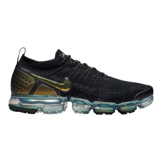 Nike Men's Air Vapormax Flyknit 2 Running Shoes BlackSilver