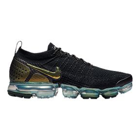 hot sale online 4f2c6 ab257 Nike Men s Air Vapormax Flyknit 2 Running Shoes - Black Silver