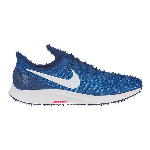 new arrival 3ee4e 1d893 Nike Men s Air Zoom Pegasus 35 Running Shoes - Navy White Blue   Sport Chek