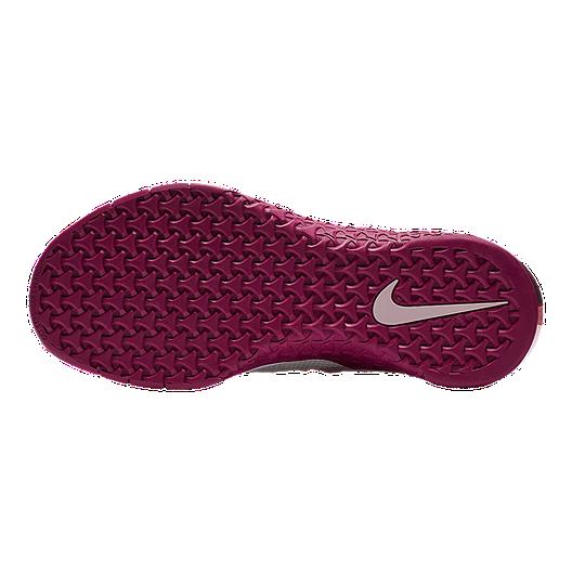 best service 40d0a 4d85a Nike Women s Metcon Flyknit 3 Training Shoes - White Plum Silver