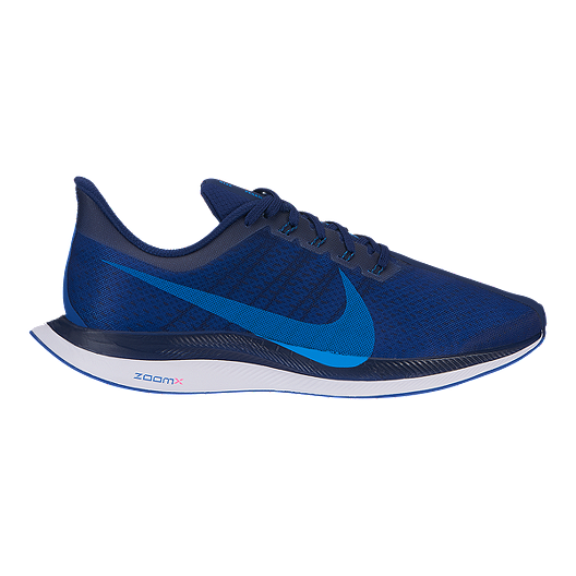 info for 65284 28e03 Nike Men's Zoom Pegasus 35 Turbo Running Shoes - Navy/Blue