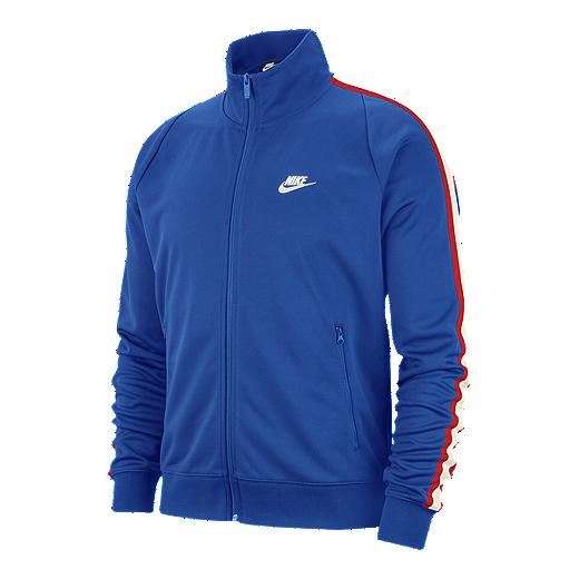 0f34bc1c Nike Sportswear Men's N98 Tribute Track Jacket - GAME ROYAL/SAIL