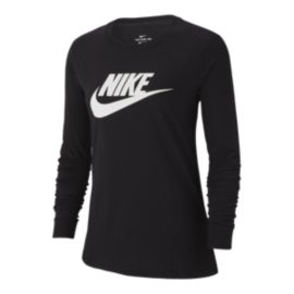Nike Sportswear Women's Essential Futura Icon Long Sleeve Shirt
