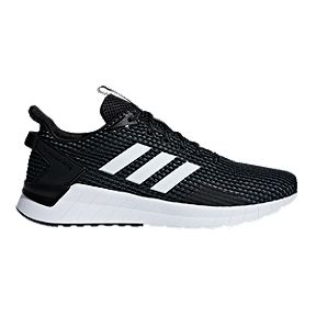 32258227c adidas Men s Questar Ride Running Shoes - Black White Grey