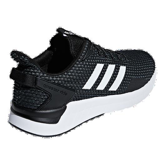 adidas Men's Questar Ride Running Shoes BlackWhiteGrey