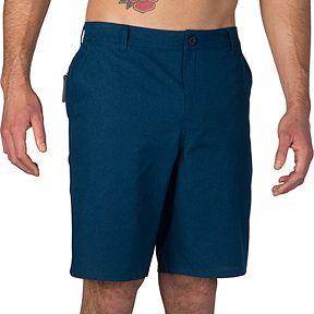 d5983cc8c4cb Ripzone Men s Cain 20 Inch Ripstop Hybrid Shorts - Poseidon