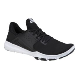 da9e1bb0a7fc Nike Men s Flex Control 3 4E Wide Width Training Shoes - Black White ...