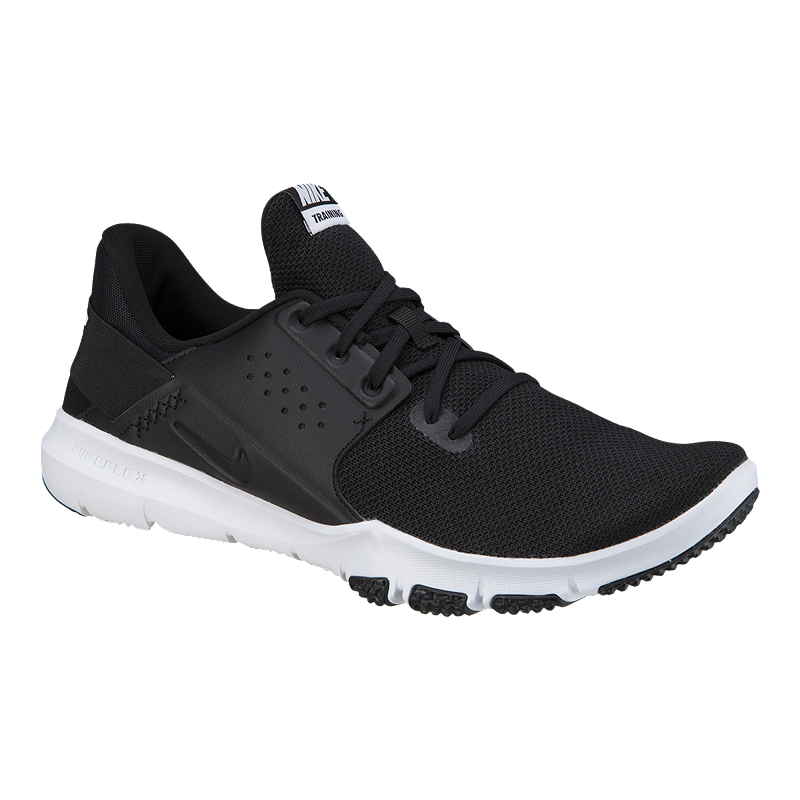 213c249c7a273 Nike Men s Flex Control 3 4E Wide Width Training Shoes -  Black White Anthracite