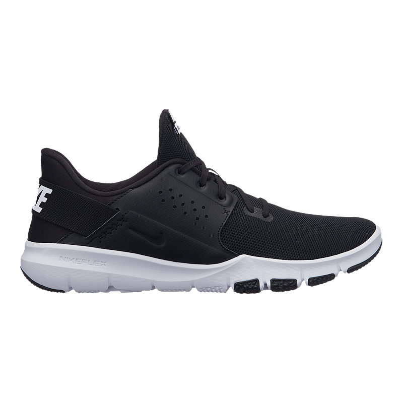 Nike Men's Flex Control 3 Training Shoes - Black/White ...