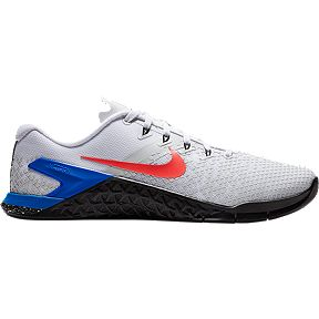 4990ea1be95 Nike Men s Metcon 4 XD Training Shoes - White Red Blue Black