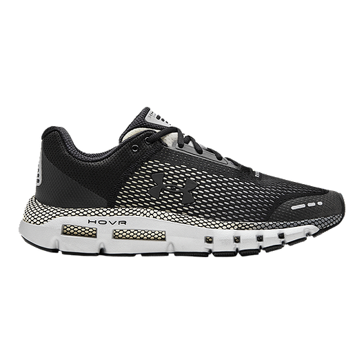 online store 886fc 40ddf Under Armour Men's HOVR Infinite Connected Running Shoes - Black/Grey