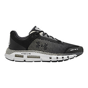 Under Armour Men's HOVR Infinite Connected Running Shoes - Black/Grey