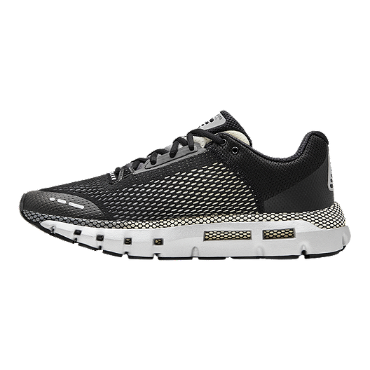 online store 32b46 5990e Under Armour Men's HOVR Infinite Connected Running Shoes - Black/Grey
