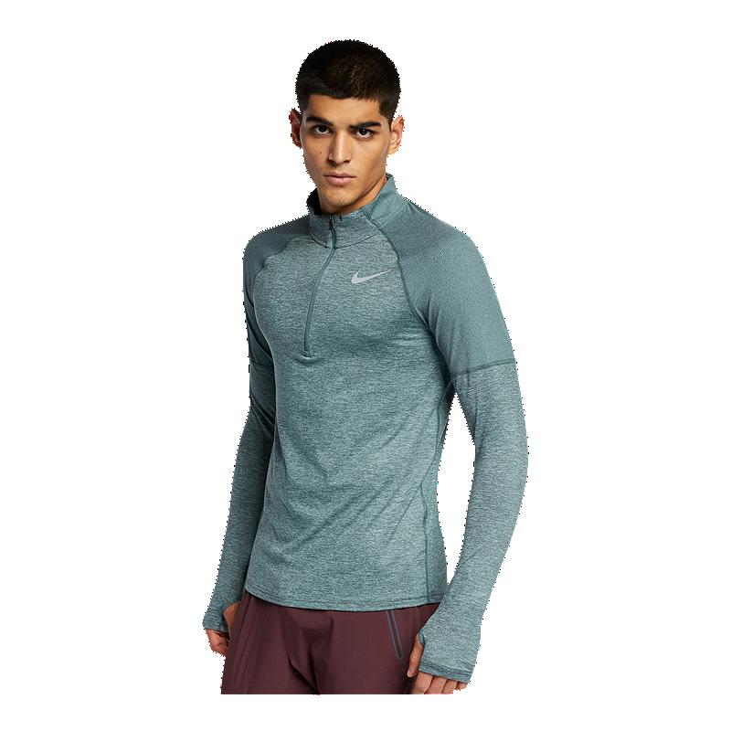 149a355a063a7 Nike Men's Element 1/2 Zip Long Sleeve Shirt   Sport Chek