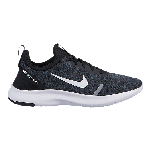eefb5a02f24 Nike Women s Flex Experience 8 Wide Running Shoes - Black White Grey ...