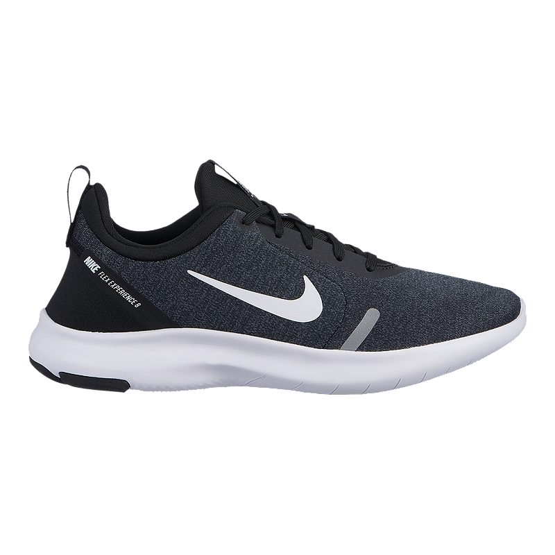 b569e0ea86cce Nike Women s Flex Experience 8 Wide Running Shoes - Black White Grey ...