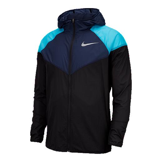 info for eb5a5 2f12a Nike Men s Windrunner Jacket - BLACK OBSIDIAN