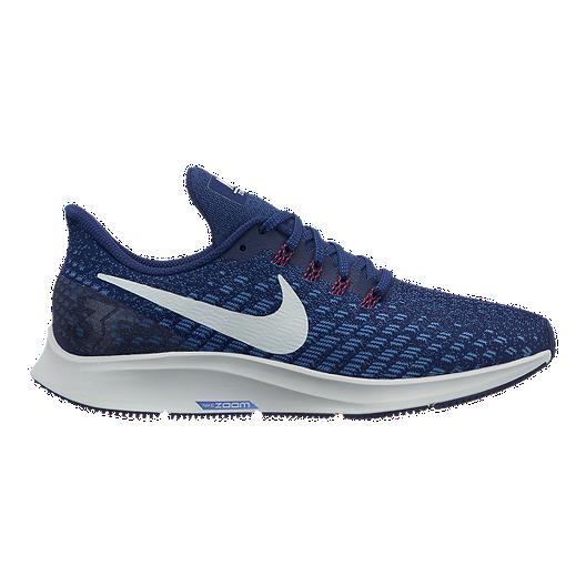 competitive price 53892 b67d8 Nike Women's Air Zoom Pegasus 35 Running Shoes - Blue Void/Aqua