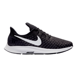 Nike Women s Air Zoom Pegasus 35 Wide Running Shoes - Black White ... 2a94779f65