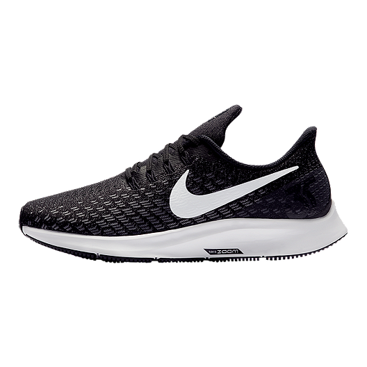 best website 7711b 2e52c Nike Women's Air Zoom Pegasus 35 Wide Running Shoes - Black/White