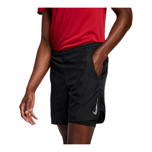 8be9c03359f Nike Men s Challenger 2 In 1 Shorts