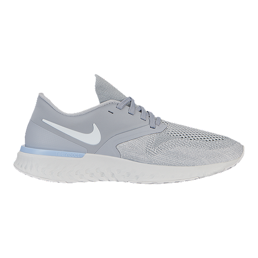 reputable site b1b05 529d0 Nike Women s Odyssey React Flyknit 2 Running Shoes - Wolf Grey White   Sport  Chek