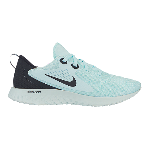 feb37534dc35a7 Nike Women's Legend React Running Shoes - Teal Tint/Black/Grey - TEAL TINT