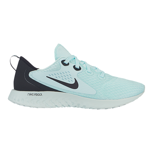 7d0c3c75f Nike Women s Legend React Running Shoes - Teal Tint Black Grey ...