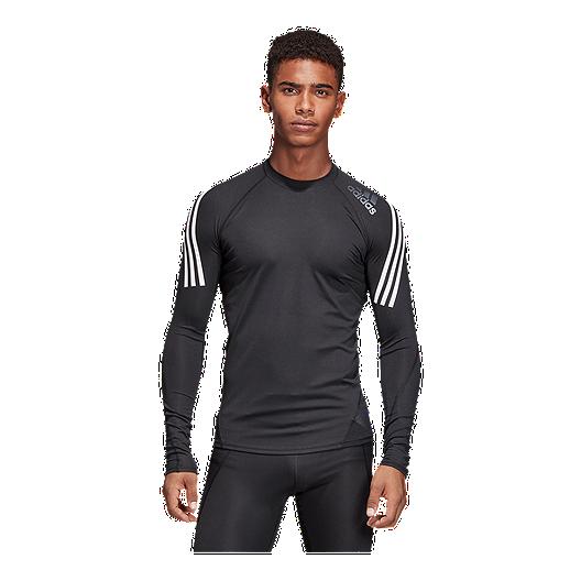dc9b278b07e5d adidas Men's Alphaskin Compression Long Sleeve Shirt