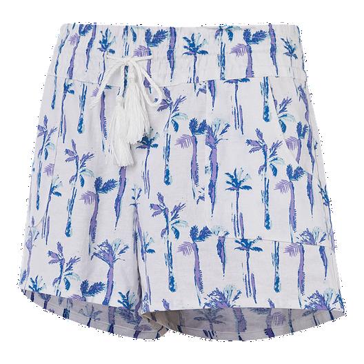 e551de484 Ripzone Women s Kai Beach Shorts - Palm Trees