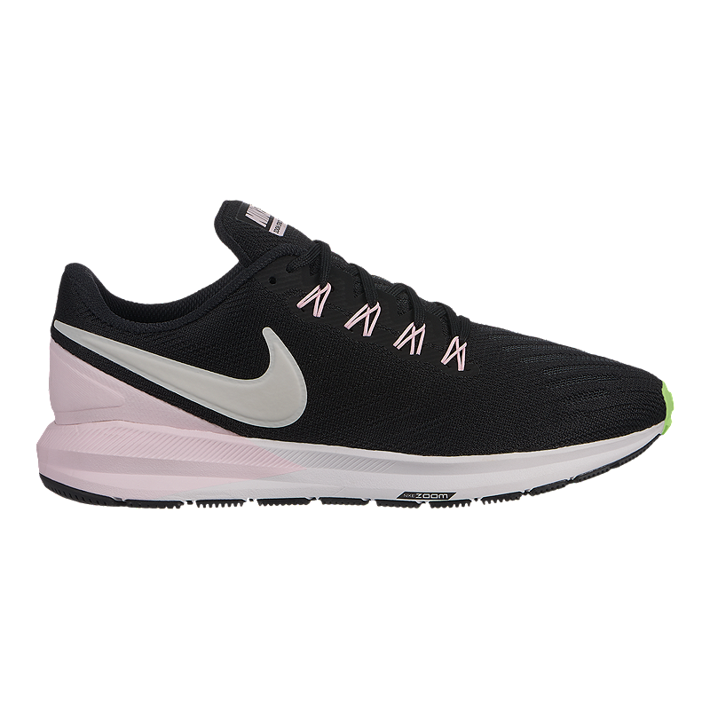 official photos f2494 dfecd Nike Women s Air Zoom Structure 22 Running Shoes - Black Vast Grey   Sport  Chek