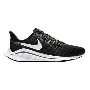 size 40 52964 5a8e7 Nike Women s Air Zoom Vomero 14 Running Shoes - Black White Grey