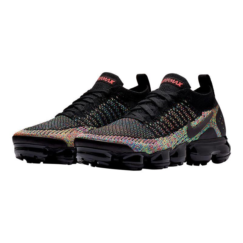 84dacea9f8 Nike Women's Air Vapormax Flyknit 2 Running Shoes - Black/Racer Pink  (887226530401)