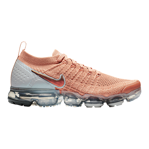 da7ba3ddc8 Nike Women's Air Vapormax Flyknit 2 Running Shoes - Rose Gold - ROSE GOLD /BIO
