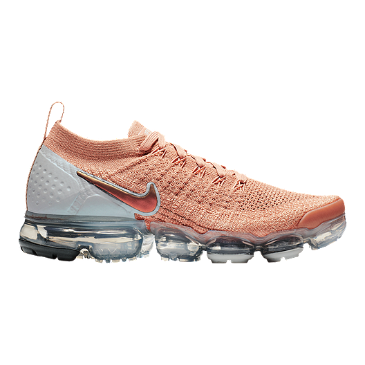 27f5557fdc8 Nike Women s Air Vapormax Flyknit 2 Running Shoes - Rose Gold ...