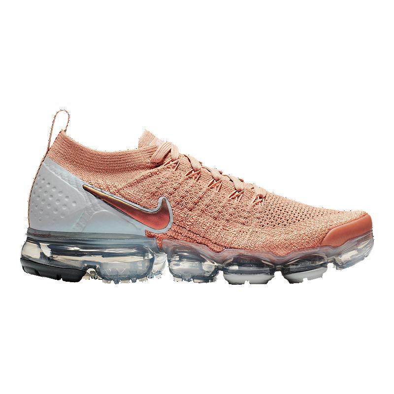 sports shoes 496c5 7b038 Nike Women s Air Vapormax Flyknit 2 Running Shoes - Rose Gold   Sport Chek