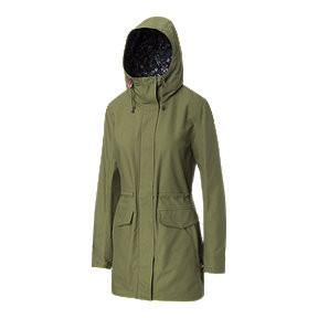 Ripzone Women's Spray Long Jacket