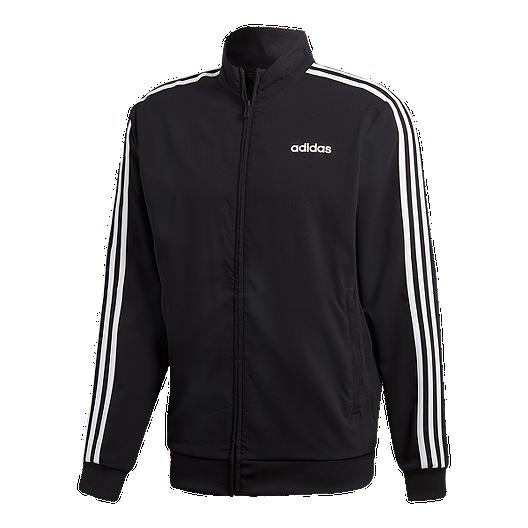 17f2322ac7a89 adidas Men's Essentials 3 Stripe Woven Jacket