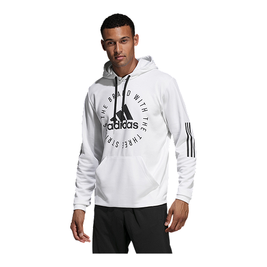 later top fashion uk store adidas Men's Sport ID Pullover Hoodie