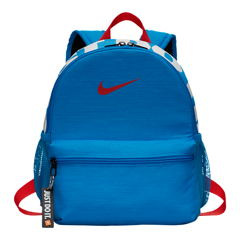 Nike Kids  Brasilia Just Do It Mini Backpack - Photo Blue  7547bf2c375a5