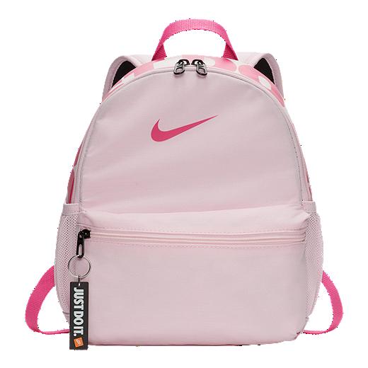 b1d01a07c0 Nike Kids  Brasilia Just Do It Mini Backpack - Pink Foam - PINK FOAM
