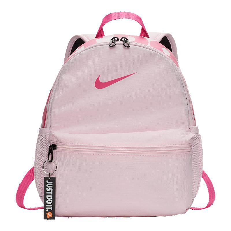 9189c98a42 Nike Kids  Brasilia Just Do It Mini Backpack - Pink Foam
